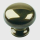 Century Solid Brass, Knob, 1-1/4'' dia. Polished Antique, 12405-PA
