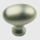 Century Solid Brass, Knob, 1-3/8'' dia. Dull Satin Nickel, 13117-DSN