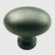 Century Solid Brass, Knob, 1-3/8'' dia.Weathered Pewter, 13117-WP