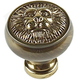 Century Solid Brass, Knob, 1-1/4'' dia. Polished Antique, 19306-PA