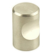Century Stainless Steel, Knob, 3/4'' dia. Brushed, 40501-32D