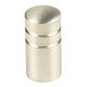 Century Stainless Steel, Knob, 5/8'' dia. Brushed, 40511-32D