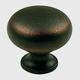 Century Solid Brass, Knob, 1-1/4'' dia. Weathered Bronze/Copper, 12405-WZC