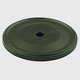 Century Solid Brass, Backplate, 1-1/2'' dia. Oil Rubbed Bronze, 16369-10B