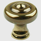 Century Solid Brass, Knob, 1-1/4'' dia. Polished Antique, 18126-PA