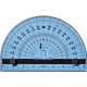 Blue Right™ Woodworker's Protractor