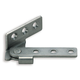 Pl-100 Series Stainless Steel Overlay Pivot Hinge, Right (PL-100R)