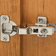 Blum® 100° Inset Clip Top 3-Way Hinges for Frameless Applications