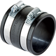 Rockler Dust Right®  2-1/2'' Rubber Union for Dust Collection