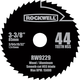 Rockwell VersaCut 3-3/8'' 44T HSS Circular Saw Blade