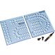 Rockler XL Cribbage Board Templates, 1/4'' Hole