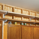 Adjustable Molding Storage Rack