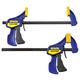 Irwin Quick-Grip 6'' Mini Bar Clamps, 2-Pack