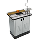 Bench Dog® Cast Iron Router Table, Pro Router Lift, Pro Fence, & Steel Cabinet