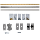 InvisiDoor Bi-fold Bookcase Hardware Kit
