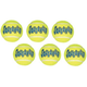 Air KONG Medium Squeaker Tennis Ball 6 Balls