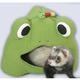 Marshall Fleece Frog Lodge for Ferrets