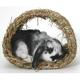 Peters Rabbit Grass Hide-A-Way Hut