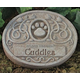 Personalized Floral Pet Memorial Stone