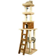 Armarkat Premium 84 Inch Cat Tower with Ladder