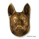 German Shepherd Dog Head Door Knocker