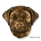 Labrador Retriever Dog Head DoorKnocker