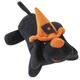 Zanies Spooky Yelper Dog Toy Small Black