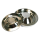 Stainless Steel Puppy Feeding Saucer 15 Inch