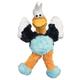 KONG Wild Knots Plush Knotted Dog Toy LG Flamingo