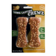 Pet n Shape Long Lasting Chicken Chew Bone 8in