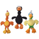 SPOT Chirpies Plush Dog Toy 3-Pack