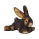 Patchwork Pet Plush Rabbit Dog Toy 15in