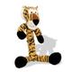 KONG Safari Braidz Dog Toy Large Zebra