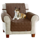 Sure Fit Waterproof Chair Cover for Pets Taupe