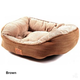 Snoozzy Pillow Soft Daydreamer Dog Bed XL Brown