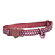 Petmate Twilight Ribbon Overlay Cat Collar Argyles