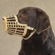 Guardian Gear Basket Dog Muzzle XL Black