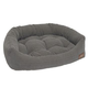 Jax and Bones Blue Tweed Napper Dog Bed X-Large
