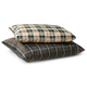 KH Mfg Indoor/Outdoor Brown Plaid Dog Bed Large