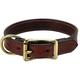 Mendota Wide Leather Dog Collar 22in x 1in