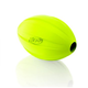 Nerf Dog Football O Treats Feeder Dog Toy Green