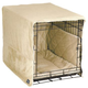 Pet Dreams Ivory Plush Dog Crate Bedding 36 Inch