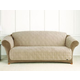 Sure Fit Suede Sofa Cover for Pets Taupe