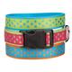 East Side Polka Dot Dog Collar 18 to 26in Rasp
