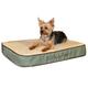 KH Mfg Memory Foam Sleeper Sage Dog Bed Large