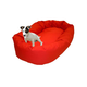 Majestic Pet Denier Bagel Dog Bed XLarge Khaki