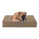 Buddy Beds Luxury Taupe Orthopedic Dog Bed Large