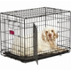 Midwest ACE Double Door Dog Crate 48 Inch