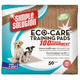 Simple Solution Eco Care Puppy Training Pads 50pk