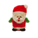 Kyjen Invincibles Mini Santa Dog Toy